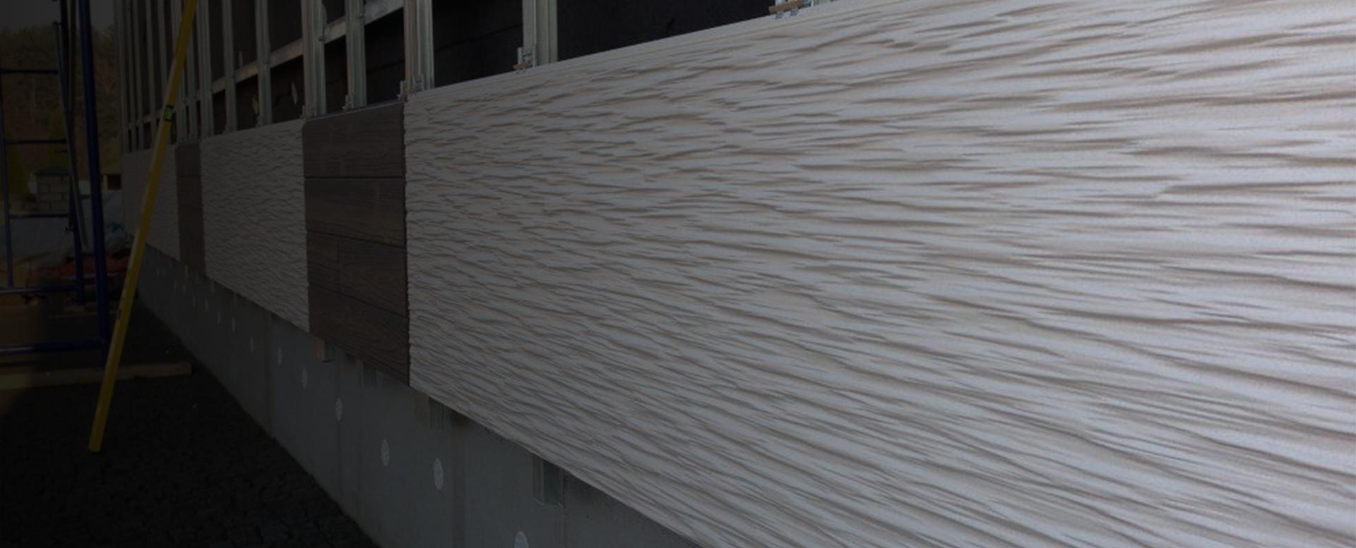 монтаж фиброцементных фасадных палелей